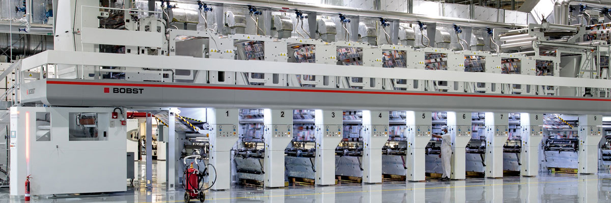 ROTOMEC Printing Machine | BOBST Flexible Packaging | Emirates Printing Press LLC