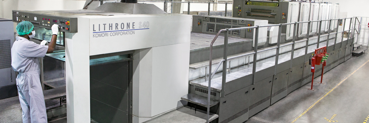 Lithrone | Komori  | Printing Equipments | Emirates Printing Press LLC